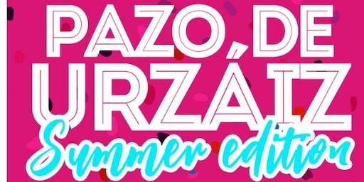 AUTOBUSES SUMMER EDITION EN PAZO DE URZAIZ VIERNES 19 DE JULIO