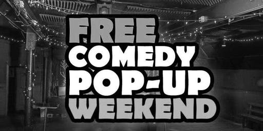 Free Pop-Up Summer Comedy Night