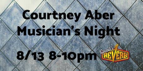 Courtney Aber Musician's Night tickets