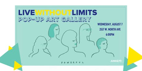 Live Without Limits Pop Up Gallery tickets