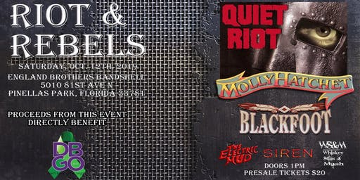 Riot & Rebels with Quiet Riot, Molly Hatchet and BLACKFOOT