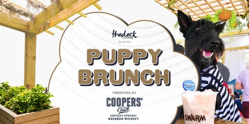 Puppy Brunch at thedeck  - Brought to you by Cooper's Craft