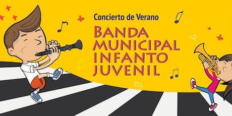 Concierto de Verano de la Banda Municipal Infanto Juvenil  entradas