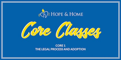 Core 1 - The Legal Process and Adoption tickets