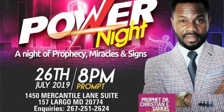 POWER NIGHT tickets