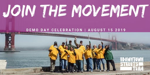 Join the Movement--Demo Day Celebration