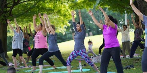 Yoga in the Park: Pulaski Park