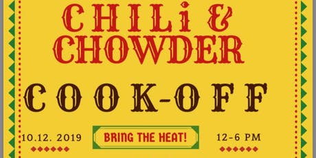 2nd Annual Chili and Chowder CookOff tickets