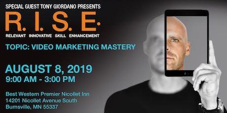 Video Marketing Mastery with Tony Giordano tickets