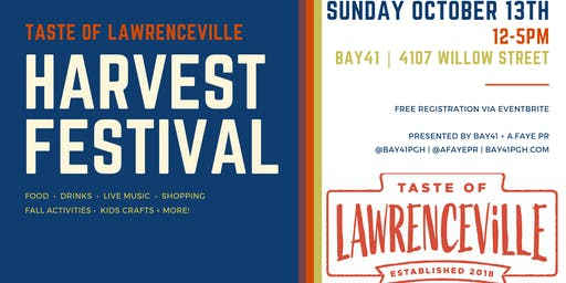 Taste of Lawrenceville: Harvest Fest