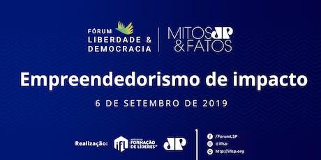6º Fórum Liberdade e Democracia ingressos