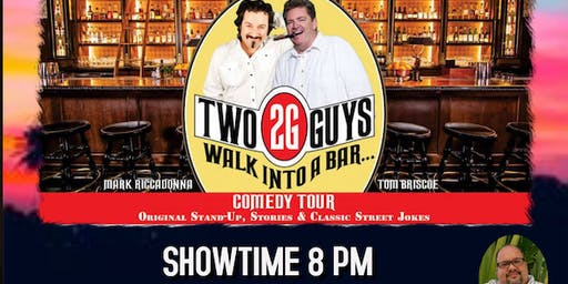 2 Guys Walk into a Bar Comedy Tour @ Pamelal's on the Hudson