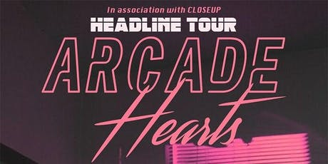 Arcade Hearts / Blue Spirit / White Heat WBF tickets
