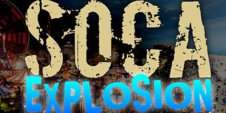 Soca Explosion on the Boardwalk 2019 tickets