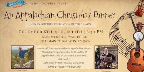 An Appalachian Christmas Dinner tickets