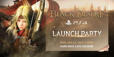 Black Desert PlayStation 4  Launch Party!