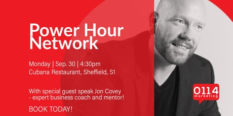 The Power Hour Network: Jon Covey, Winning From Within tickets