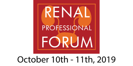 NKFF Renal Professional Forum tickets