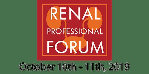 NKFF Renal Professional Forum