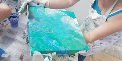Advance Paint Pour Workshops