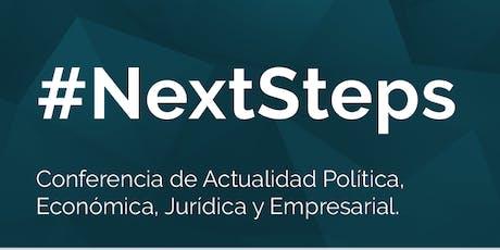 #NextSteps entradas