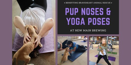 Pup Noses + Yoga Poses  tickets