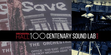 OH100: Centenary Sound Lab tickets