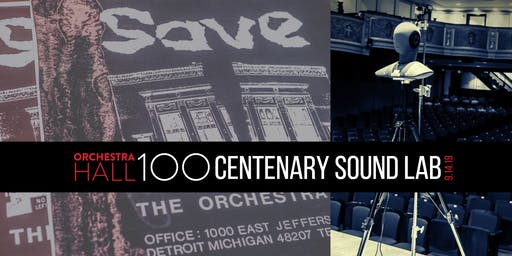OH100: Centenary Sound Lab
