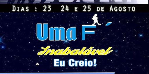 1º Congresso da Juventude IBMVV Uma Fé inabalavel EU CREIO!