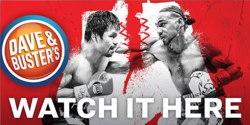 D&B North Hills - Pacquiao VS Thurman Watch Party!