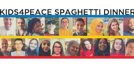 Kids4Peace Spaghetti Dinner