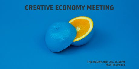 Creative Economy Meeting July 2019 tickets