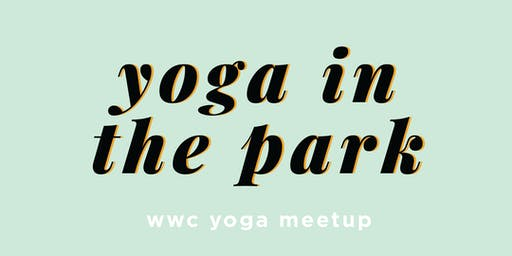 Yoga in the Park x WWC