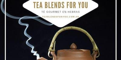 Workshop de Tea Blending TEA BLENDS FOR YOU Noviembre 2019