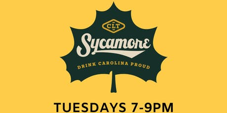 TRIVIA! at SYCAMORE BREWING BEER GARDEN - UPTOWN CHARLOTTE tickets
