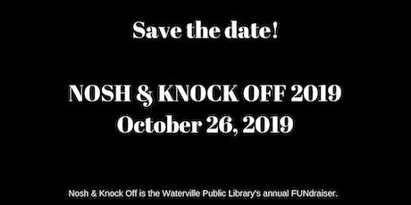 WPL Nosh & Knock Off 2019: A Librarian Scorned tickets