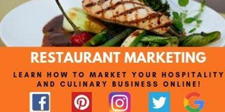 Restaurant Marketing with Rajeeyah Madinah tickets
