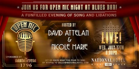 Open Mic Night at the Blues Bar July 17th tickets