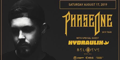 PhaseOne -DISCIPLE. w/ Hydraulix 2019 TOUR | IRIS ESP101 Learn to Believe | Saturday Aug 17