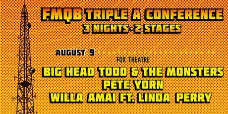 BIG HEAD TODD & THE MONSTERS + PETE YORN + WILLA AMAI FEATURING LINDA PERRY tickets