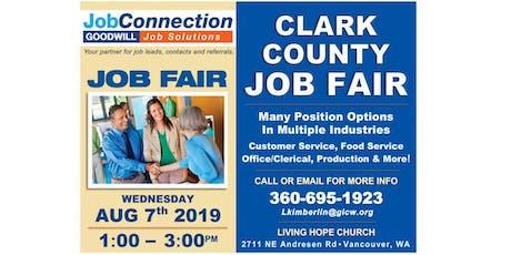 Job Fair - Vancouver - 8/7/19 tickets