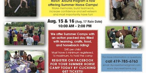 Summer Horse Camps