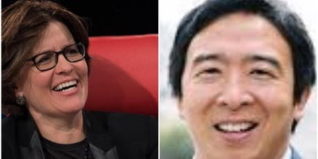 Conversation between Presidential Candidate Andrew Yang + Kara Swisher tickets