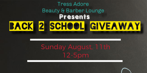 "Tress Adore ""Back to School"" Giveaway"