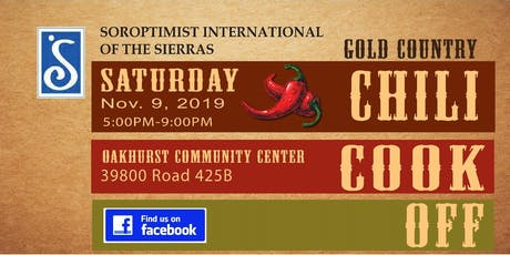 2019 Chili Cook Off - Fall Fundraiser for Soroptimist Int'l of The Sierras tickets