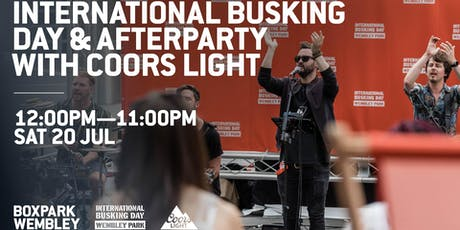 International Busking Day & Afterparty with Coors Light tickets