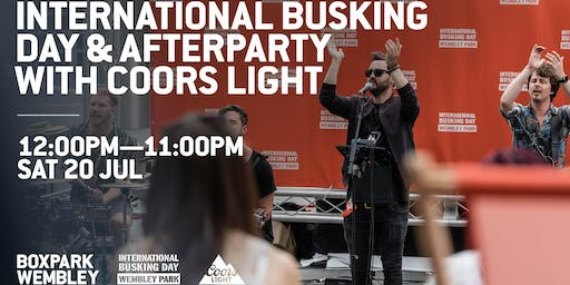 International Busking Day & Afterparty with Coors Light