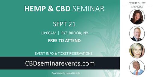 HEMP & CBD SEMINAR | Rye Brook, NY