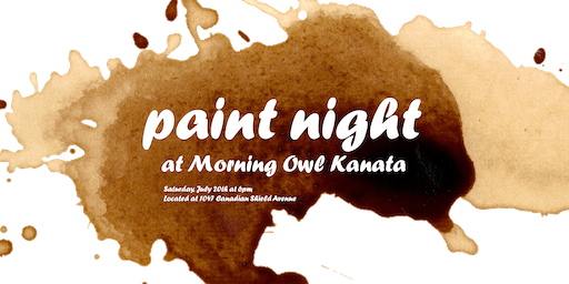 Paint Night at Morning Owl Kanata