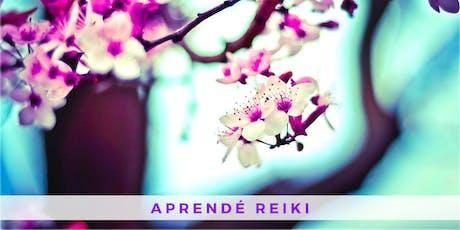 Curso de Reiki Usui - Primer Nivel (Villa Crespo) entradas